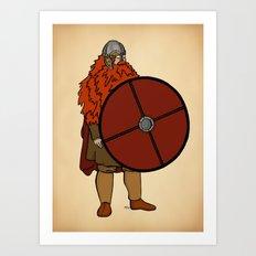 Red Beard 2 Art Print