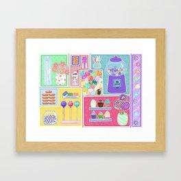 Sweets & Treats Framed Art Print