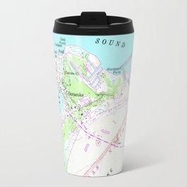 Vintage Map of Ocracoke North Carolina (1948) Travel Mug