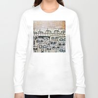 the neighbourhood Long Sleeve T-shirts featuring Crowded neighbourhood by Kaelyn Saunders