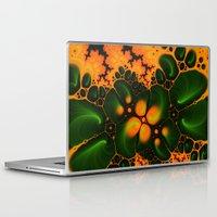 fractal Laptop & iPad Skins featuring Fractal  by Karl-Heinz Lüpke