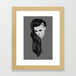 PVRIS - Lynn Gunn Framed Art Print