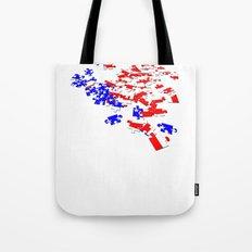 patriotic jigsaw Tote Bag