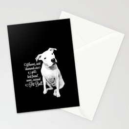 Girls Best Friend Stationery Cards