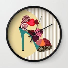 Pop Art Shoe Wall Clock