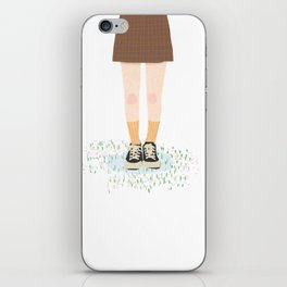 GIRL-4 iPhone Skin