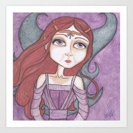 Fairy Brenna Art Art Print