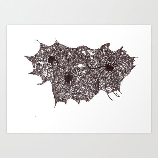 Decay Art Print
