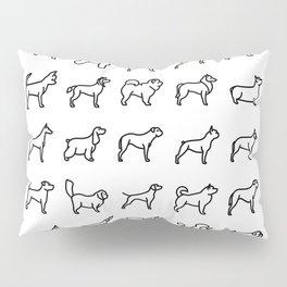 CUTE DOGS / PUPPIES PATTERN Pillow Sham
