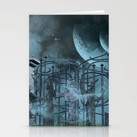 gothic Stationery Cards featuring Gothic by nicky2342