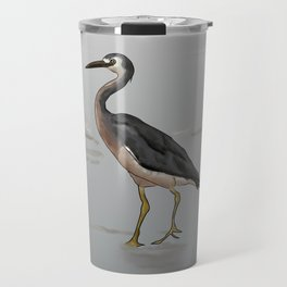 White-faced Heron Travel Mug