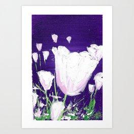 NightPoppy Art Print