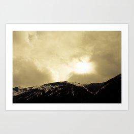 To the Heavens Art Print