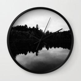 Still Lake Wall Clock