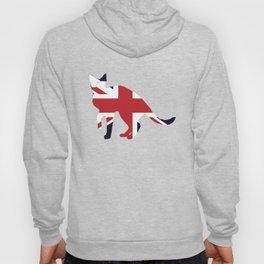 Union Jack Cat United Kingdom Flag Hoody