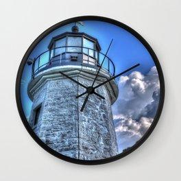 Lighthouse and SKy Wall Clock