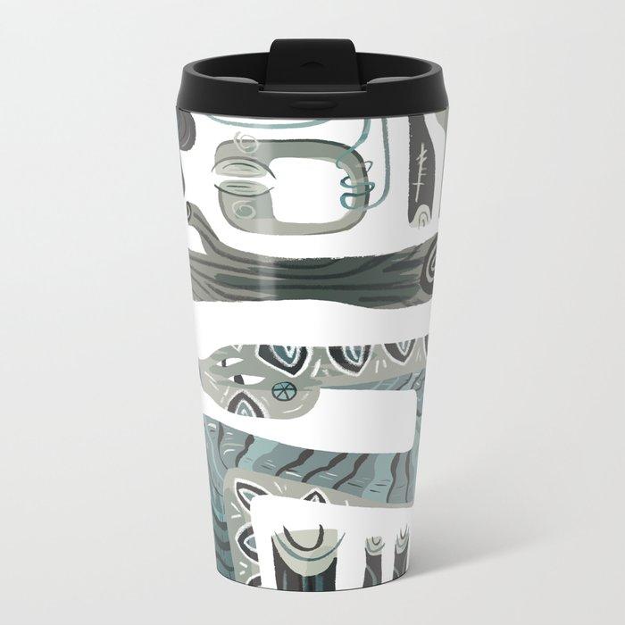 serpent Metal Travel Mug