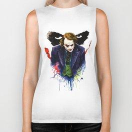Angel Of Chaos (The Joker) Biker Tank