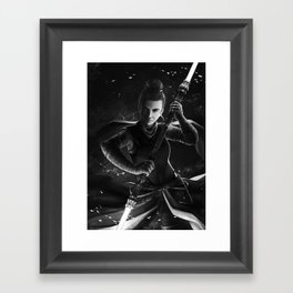 The dark side had cookies Framed Art Print