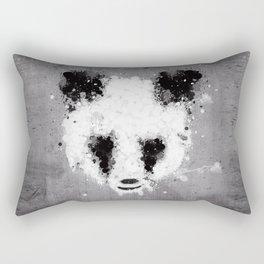 panda paint Rectangular Pillow