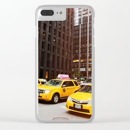 New York 22 Clear iPhone Case