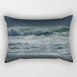 Rolling Waves of Serenity Rectangular Pillow