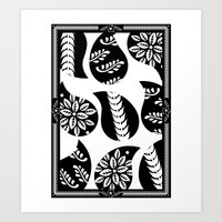 Mehindi Three Art Print
