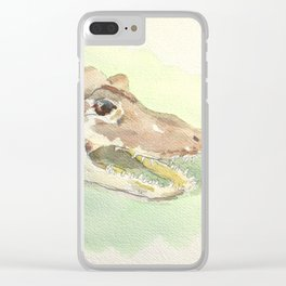 Alligator Clear iPhone Case