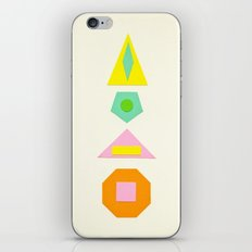 Shapes Within Shapes iPhone & iPod Skin