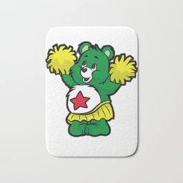 CHEERLEADER TEDDY Pom Pom Cheerleading Dancing Bath Mat