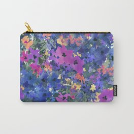 French Red Violet Carry-All Pouch