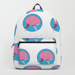 Brain Candy Pattern Backpack