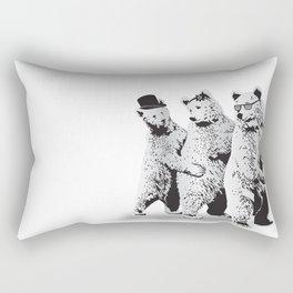 Funky Bears Rectangular Pillow