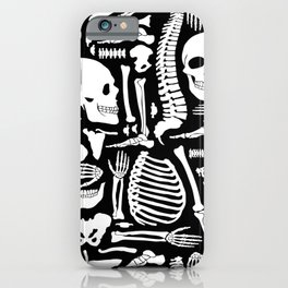 Human Bones Skeleton iPhone Case