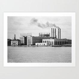 Detroit rubber Art Print