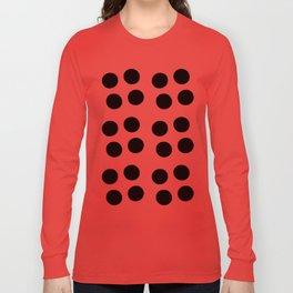 Copijn Black & White Dots Long Sleeve T-shirt