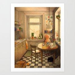 Kitchen 2 Art Print