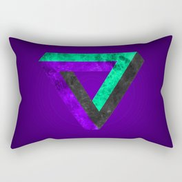 The infinity triangle inverted Rectangular Pillow