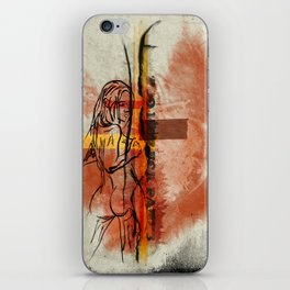 Too Hot for Pants iPhone Skin