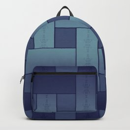 Basket weaving Backpack