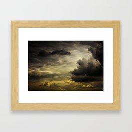 Gloomy Sky 0002 Framed Art Print