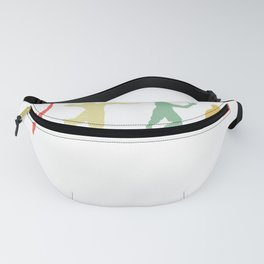 Retro Volleyball  Fanny Pack
