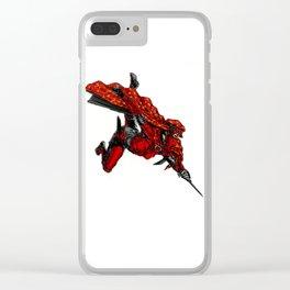 Zauba flies Clear iPhone Case