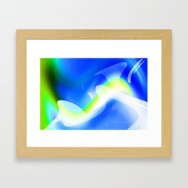 """'70's Lava Lamp"" Photograph Framed Art Print"