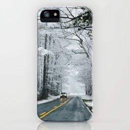 snow day pt 2 iPhone Case