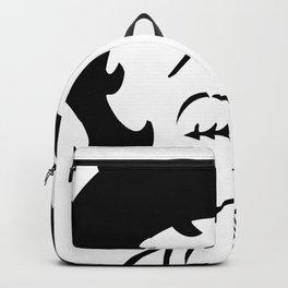 Betty Boop Tease Kiss (Black & White) Backpack