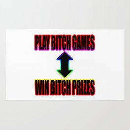 Play B*tch Games Rug