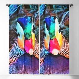 Rainbow Duck Blackout Curtain