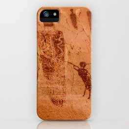 Horseshoe Canyon Great Gallery Group 2 Pictographs iPhone Case