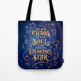 Dancing Star Tote Bag